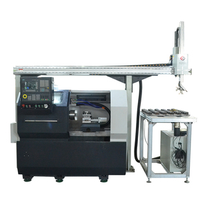 数控车床CNC桁架机械手自动上下料机
